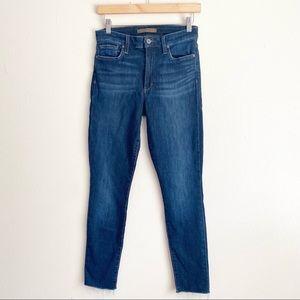 Joe's Jeans Dark Wash High Rise Skinny Jeans 27